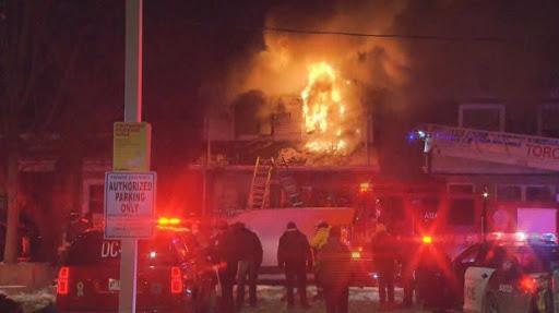 آتش سوزی در تورنتو و کشته شدن ۴ نفر