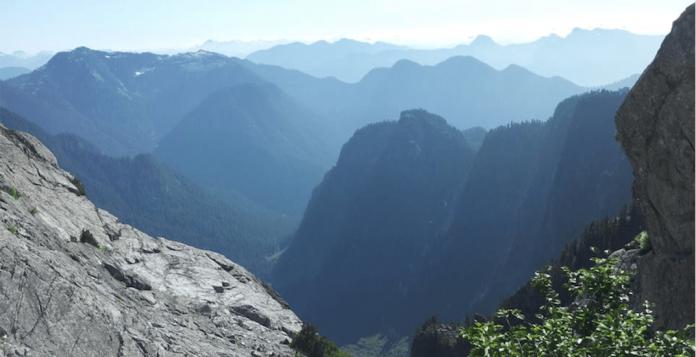 مرگ زنی در مسیر کوهستانی Vancouver