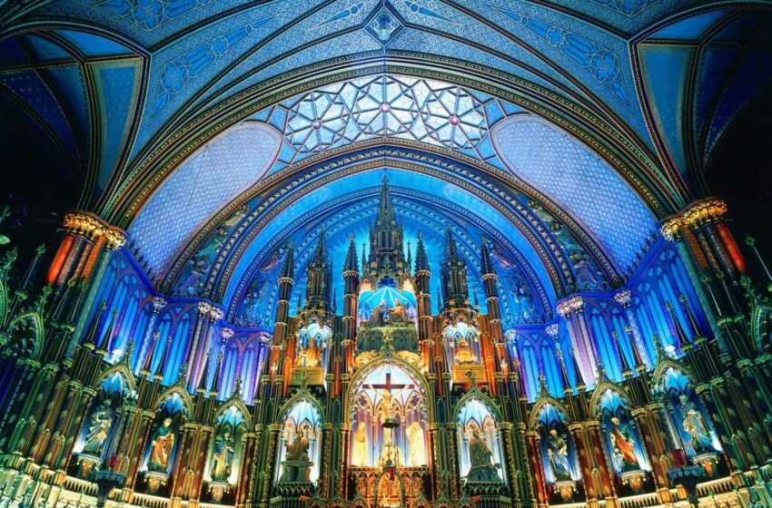 کلیساهای مونترال کانادا