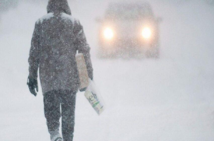 طوفان زمستانی در راه مونترال ومناطقی از کبک