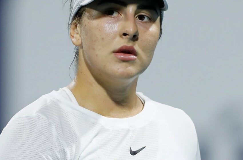 تست کووید-١٩ ستاره تنیس کانادایی، بیانکا آندریسکو مثبت شد
