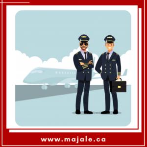 خلبانی در کشور کانادا