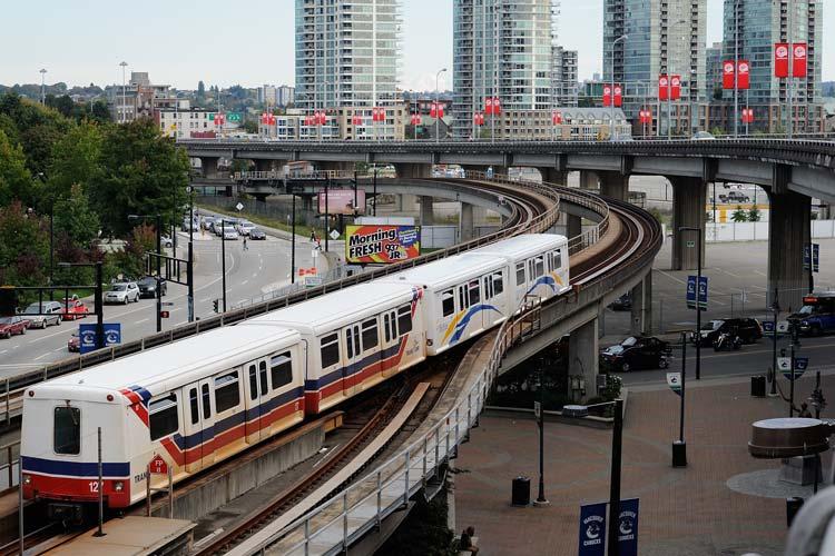 وسایل نقلیه عمومی در کانادا