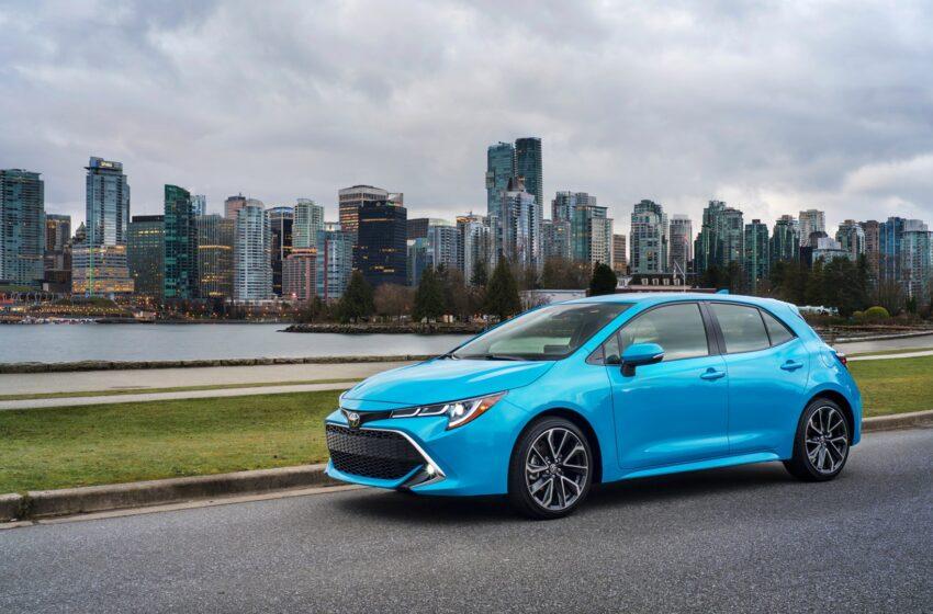 ماشین های محبوب در کانادا