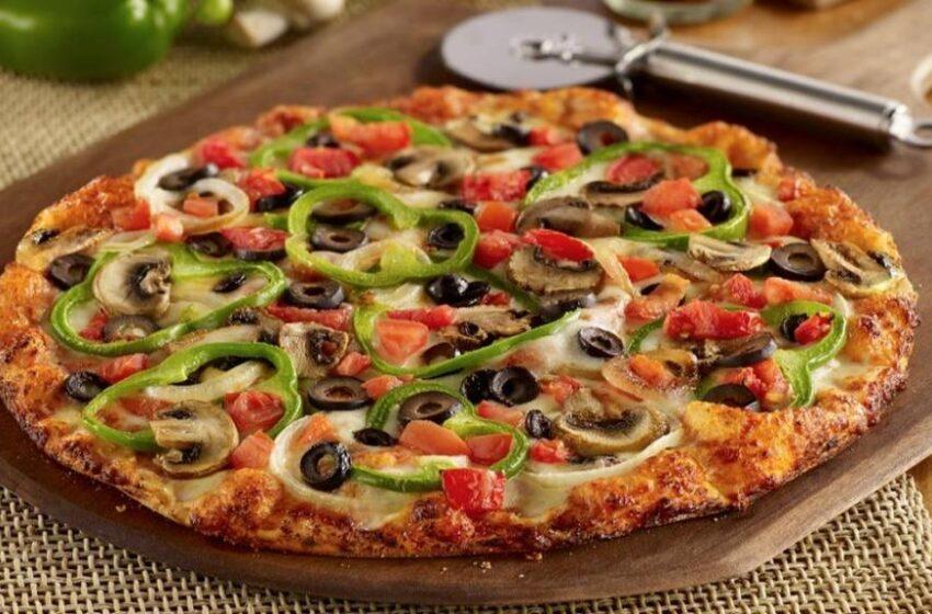 آموزش پخت پیتزای رژیمی خوشمزه و سالم در خانه