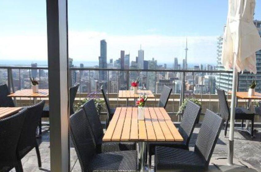 بازگشایی مرتفعترین پاسیوی تورنتو که در طبقه ۵۱ قرار دارد