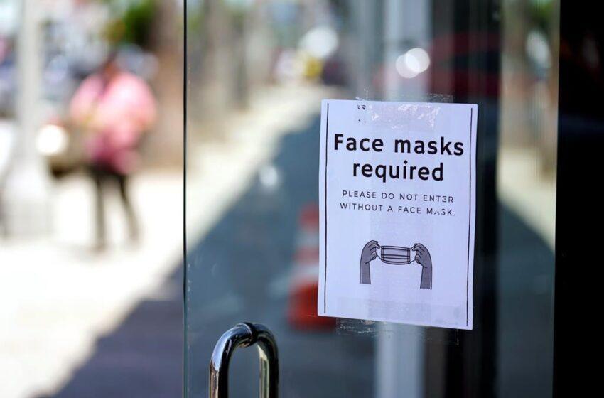 آیین نامه جدید استفاده از ماسک در کلگری