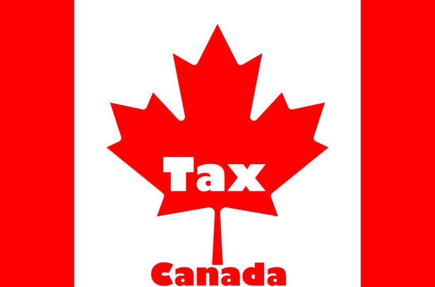 انواع مالیات در کانادا