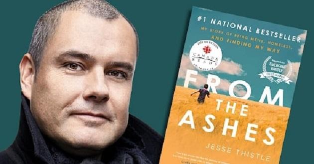 از دل خاکستر پرفروش ترین کتاب سال کانادا